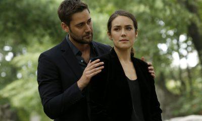 "THE BLACKLIST -- ""Ilyas Surkov (#54)"" Episode 505 -- Pictured: (l-r) Ryan Eggold as Tom Keen, Megan Boone as Elizabeth Keen -- (Photo by: Will Hart/NBC)"