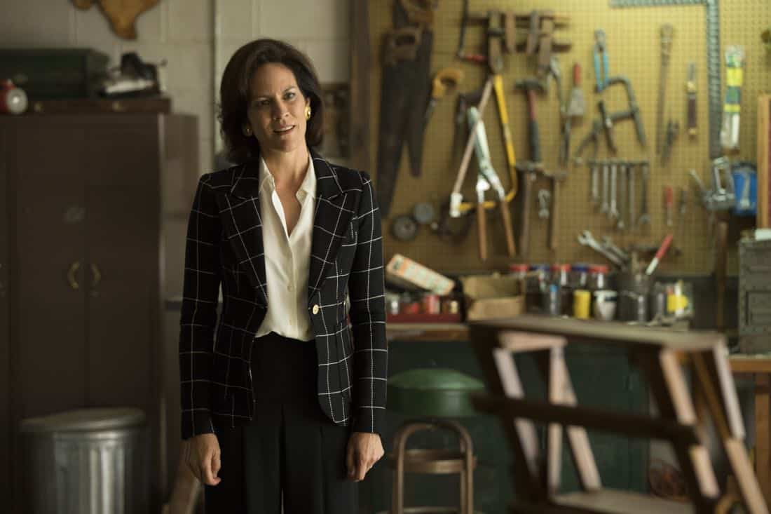 Annabeth Gish as Diane Gould - Halt and Catch Fire _ Season 4, Episode 9 - Photo Credit: Bob Mahoney/AMC