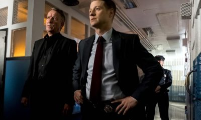 "GOTHAM: L-R: Sean Pertwee and Ben McKenzie in the ""A Dark Knight: The Blade's Path"" episode of GOTHAM airing Thursday, Oct. 19 (8:00-9:01 PM ET/PT) on FOX. CR: Jeff Neumann"