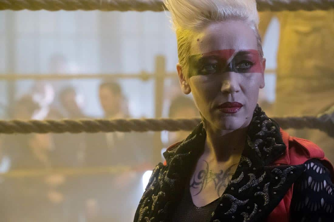 "GOTHAM: Guest star Marina Benedict in the ""A Dark Knight: The Blade's Path"" episode of GOTHAM airing Thursday, Oct. 19 (8:00-9:01 PM ET/PT) on FOX.  CR:  Jessica Miglio/FOX"
