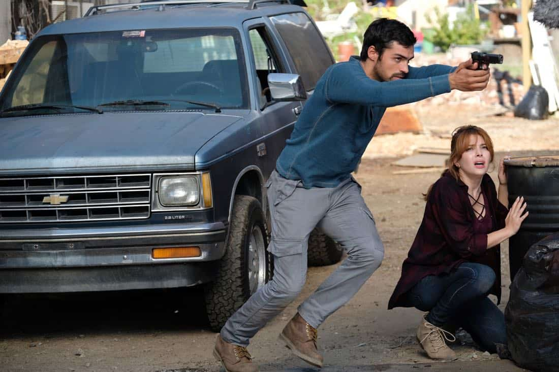 "THE GIFTED:  L-R:  Sean Teale and guest star Elena Satine in the ""eXit strategy"" episode of THE GIFTED airing Monday, Oct. 23 (9:00-10:00 PM ET/PT) on FOX.  ©2017 Fox Broadcasting Co.  Cr:  Eliza Morse/FOX"