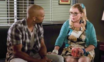 """Lucky Strikes"" -- When Garcia experiences anxiety over a case that's personal to her from her past, Morgan visits to lend emotional support, on CRIMINAL MINDS, Wednesday, Oct. 25 (10:00-11:00 PM, ET/PT) on the CBS Television Network. Pictured: Shemar Moore (Derek Morgan), Kirsten Vangsness (Penelope Garcia) Photo: Darren Michaels/CBS ©2017 CBS Broadcasting, Inc. All Rights Reserved"
