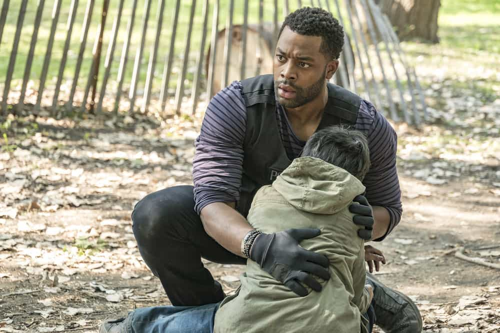 """CHICAGO P.D. -- """"Home"""" Episode 505 -- Pictured: LaRoyce Hawkins as Kevin Atwater -- (Photo by: Matt Dinerstein/NBC)"""