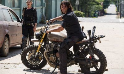Melissa McBride as Carol Peletier, Norman Reedus as Daryl Dixon - The Walking Dead _ Season 8, Episode 1 - Photo Credit: Gene Page/AMC