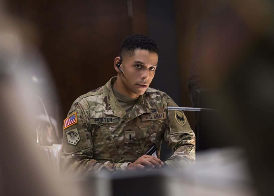Valor season 1 episode 3 photos soldier ready seat42f for Charlie barnett