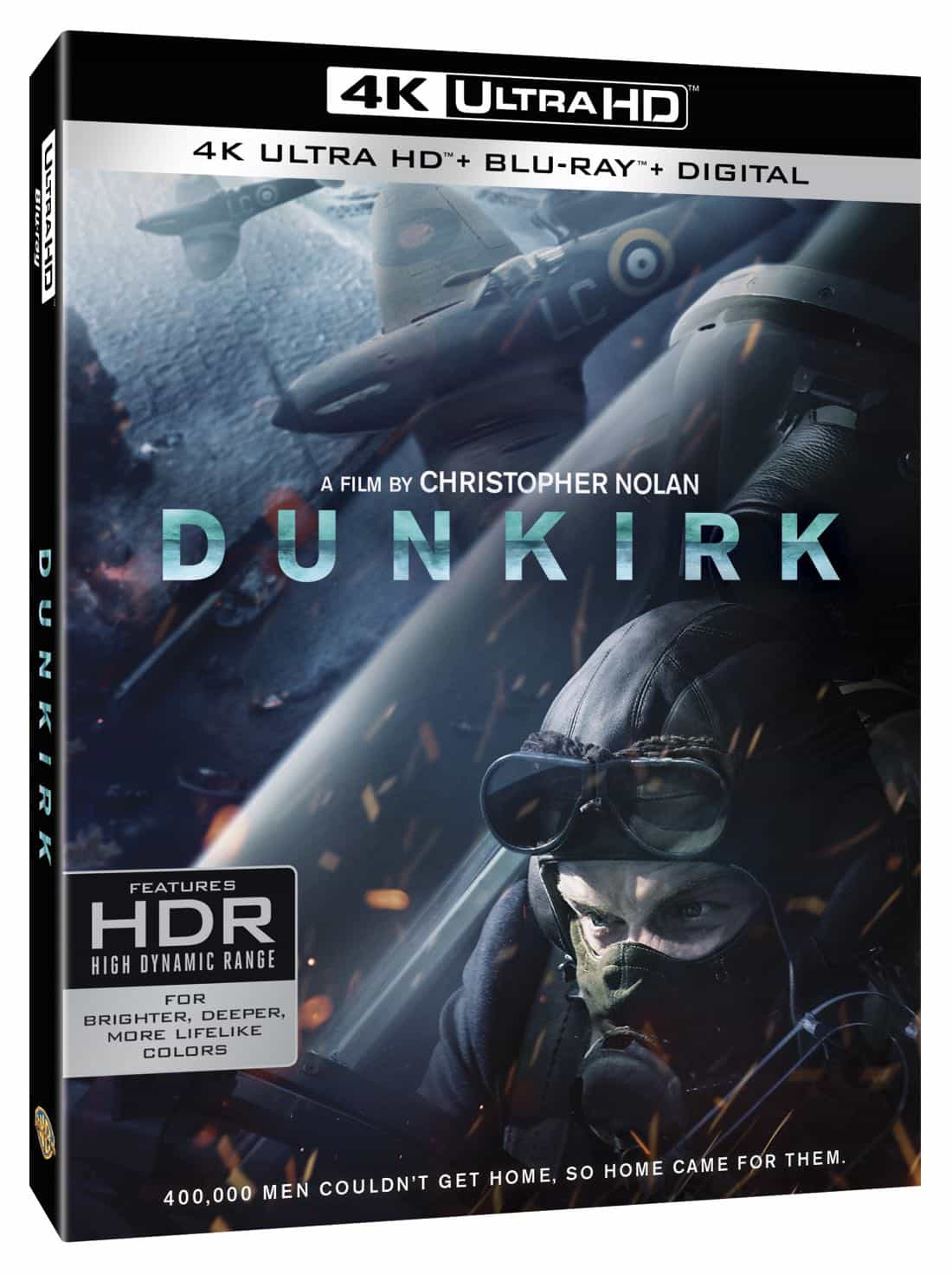 dunkirk blu ray 4k and dvd release details seat42f. Black Bedroom Furniture Sets. Home Design Ideas