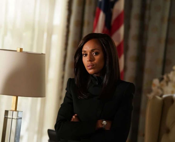 """SCANDAL - """"Adventures in Babysitting"""" - Olivia and Mellie assert their power like never before; meanwhile, Cyrus is working on congressional approval to declare war in Bashran, and QPA is keeping close watch on President Rashad's niece, on """"Scandal,"""" airing THURSDAY, NOV. 2 (9:00-10:00 p.m. EDT), on The ABC Television Network. (ABC/Mitch Haaseth) KERRY WASHINGTON"""