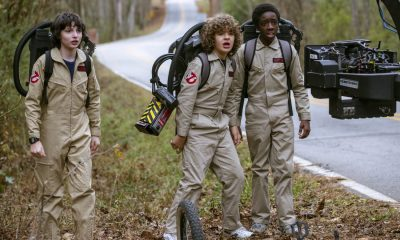 Stranger Things Season 2 Finn Wolfhard, Gaten Matarazzo, Caleb McLaughlin