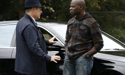 "THE BLACKLIST -- ""The Kilgannon Corp. (#48)"" Episode 507 -- Pictured: (l-r) James Spader as Raymond ""Red"" Reddington, Hisham Tawfiq as Dembe Zuma -- (Photo by: Will Hart/NBC)"