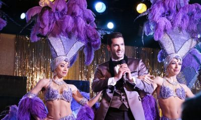 "LUCIFER: L-R: Aimee Garcia and Tom Ellis in the ""Vegas With Some Radish"" episode of LUCIFER airing Monday, Nov. 6 (8:00-9:00 PM ET/PT) on FOX. CR: Michael Courtney/FOX"