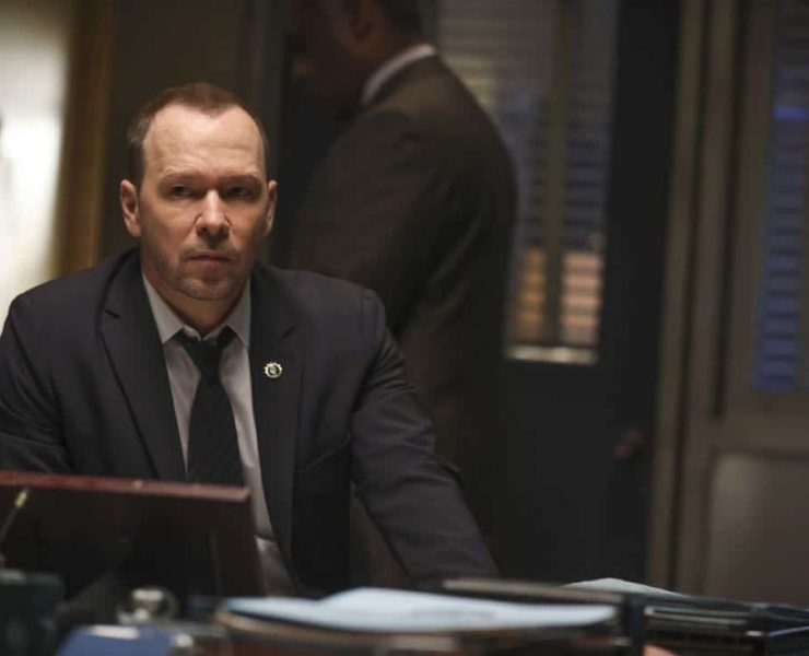 """""""Common Ground"""" – A case turns personal for Danny when he works to protect a nurse, Faith Madson (Jessie Mueller), from her violent ex-boyfriend. Also, Shelly Wayne (Cassandra Freeman), an acquaintance of Frank's, comes to him with a theory regarding the death of an inmate, and Jamie and Eddie help deliver a baby, on BLUE BLOODS, Friday, Nov. 10 (10:00-11:00 PM, ET/PT) on the CBS Television Network. Pictured: Donnie Wahlberg. Photo: Craig Blankenhorn/CBS ©2016 CBS Broadcasting Inc. All Rights Reserved."""