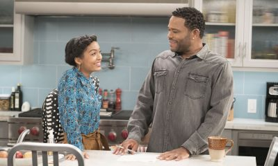 "BLACK-ISH - ""First and Last"" - Diane experiences a big life event toward becoming a woman and Bow, Ruby, Zoey and Alicia are there to support her. Meanwhile, afraid that he may never be able to beat Junior at basketball again, Dre conducts psychological warfare on Junior before challenging him to a game, on ""black-ish,"" TUESDAY, NOV. 7 (9:00-9:30 p.m. EST), on The ABC Television Network. (ABC/Eric McCandless) YARA SHAHIDI, ANTHONY ANDERSON"