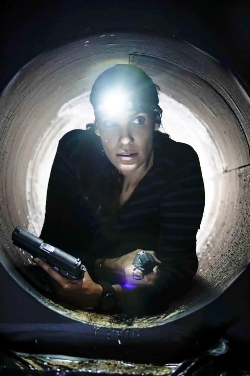 """The Silo"" – Pictured: Daniela Ruah (Special Agent Kensi Blye). After an Air Force captain Kensi dated a decade ago breaches a missile launch facility, she is transported to the location to help thwart the use of nuclear weapons, on NCIS: LOS ANGELES, Sunday, Nov. 12 (9:00-10:00 PM, ET/PT) on the CBS Television Network. Photo: Erik Voake/CBS ©2017 CBS Broadcasting, Inc. All Rights Reserved."