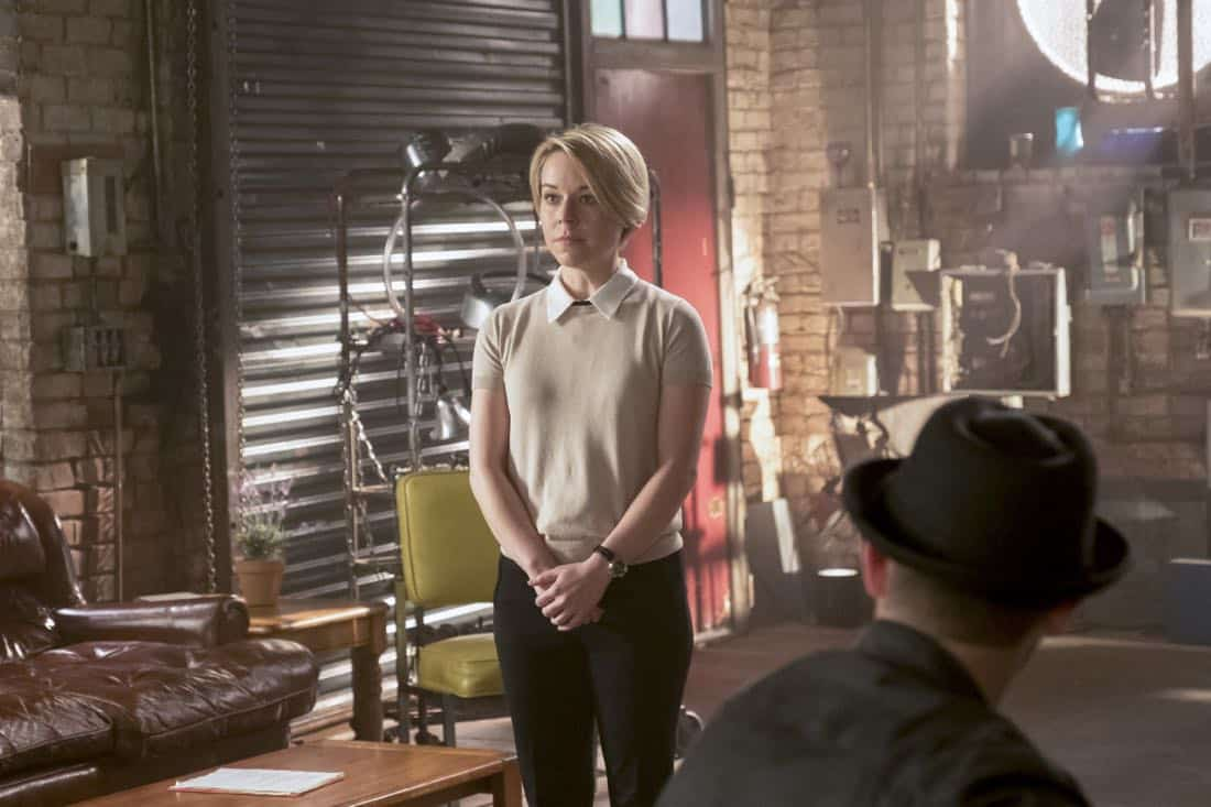 """Go With the Flo(rence)"" --While tracking a device that can prevent a nuclear meltdown through the Los Angeles sewers, Walter learns the nuances of listening and not offering advice to Paige. Also, Team Scorpion meets Florence (guest star Tina Majorino), their new neighbor at the garage, after she sends a mix of smelly chemicals through their shared ventilation as a warning to keep the noise down, on SCORPION, Monday, Nov. 6 (10:00-11:00 PM, ET/PT) on the CBS Television Network. Pictured:  Tina Majorino Photo: Jessica Brooks/CBS ©2017 CBS Broadcasting, Inc. All Rights Reserved"