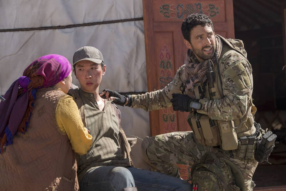 "THE BRAVE -- ""Stealth"" Episode 108 -- Pictured: Noah Mills as Sergeant Joseph ""McG"" McGuire -- (Photo by: Lewis Jacobs/NBC)"