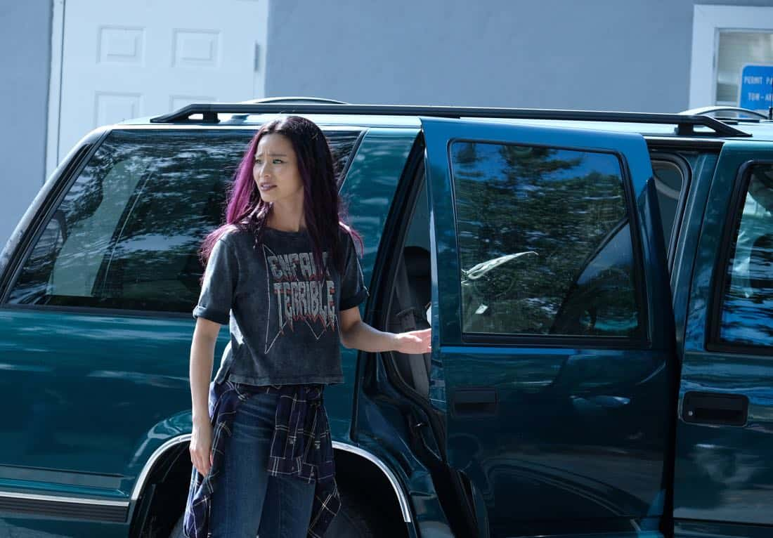"THE GIFTED:  Jamie Chung in the ""threat of eXtinction"" episode of THE GIFTED airing Monday, Nov. 20 (9:00-10:00 PM ET/PT) on FOX.  ©2017 Fox Broadcasting Co.  Cr: Eliza Morse/FOX"
