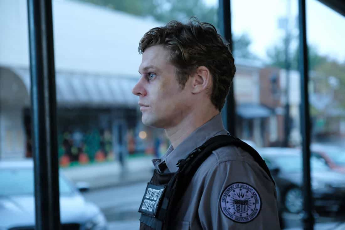 "THE GIFTED:  Guest star Zach Roerig in the ""threat of eXtinction"" episode of THE GIFTED airing Monday, Nov. 20 (9:00-10:00 PM ET/PT) on FOX.  ©2017 Fox Broadcasting Co.  Cr: Eliza Morse/FOX"