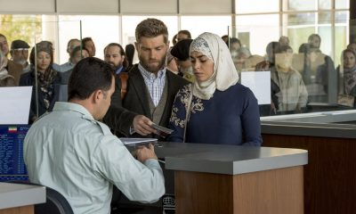 "THE BRAVE -- ""Desperate Times"" Episode 109 -- Pictured: (l-r) Mike Vogel as Captain Adam Dalton, Natacha Karam as Sergeant Jasmine ""Jaz"" Khan -- (Photo by: Lewis Jacobs/NBC)"