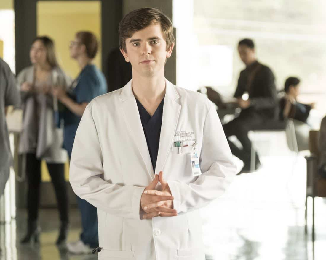 "THE GOOD DOCTOR - ""Sacrifice"" - Members of the hospital's surgical team are initially impressed with a charming young doctor, but his true character puts one of them in an awkward position at work. Meanwhile, Dr. Glassman feels Dr. Shaun Murphy needs a little more support with his personal life and suggests he meet with a therapist. However, Shaun is determined to show him that he can do it on his own, on ""The Good Doctor,"" MONDAY, DEC. 4 (10:00-11:00 p.m. EST), on The ABC Television Network. (ABC/Eike Schroter) FREDDIE HIGHMORE"