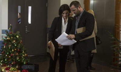 "BLINDSPOT -- ""Fix My Present Havoc"" Episode 307 -- Pictured: (l-r) Jaimie Alexander as Jane Doe, Sullivan Stapleton as Kurt Weller -- (Photo by: Eric Liebowitz/NBC/WarnerBros)"