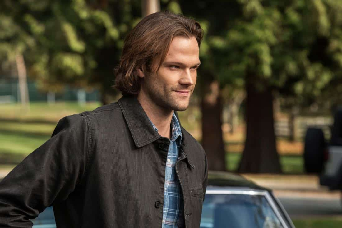 """Supernatural -- """"Wayward Sisters"""" -- Image Number: SN1310d_0081b.jpg -- Pictured: Jared Padalecki as Sam -- Photo: Dean Buscher/The CW -- © 2017 The CW Network, LLC All Rights Reserved"""