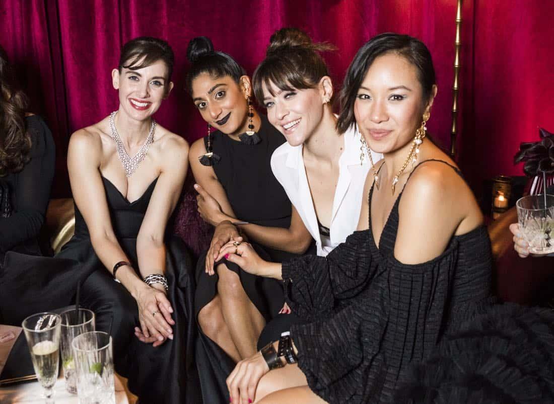 Golden Globes 2018 - Alison Brie, Sunita Mani, Jackie Tohn, Ellen Wong