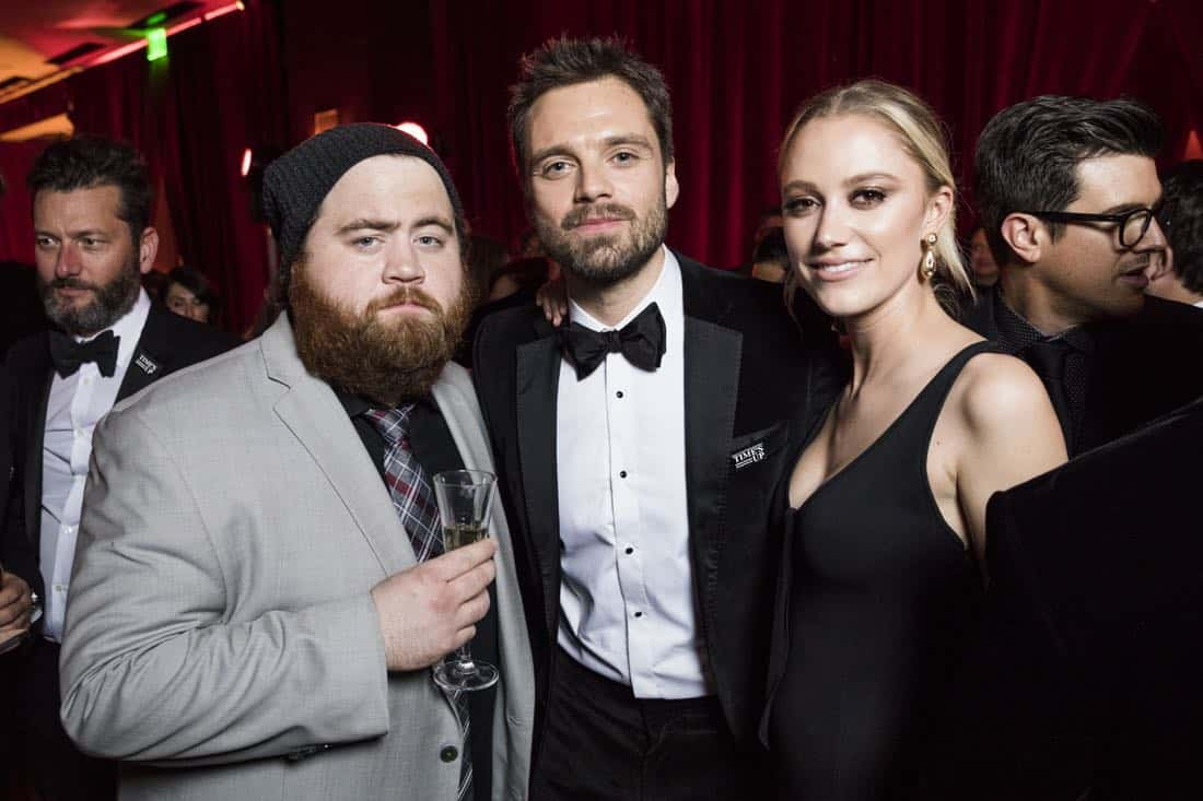 Golden Globes 2018 - Sebastian Stan