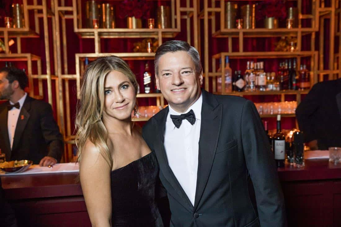 Golden Globes 2018 - Jennifer Aniston, Ted Sarandos