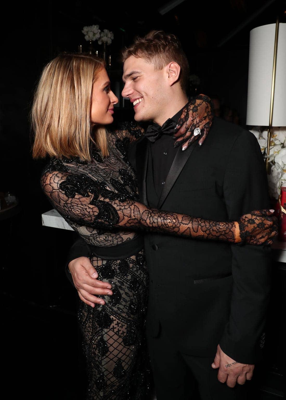 Paris Hilton, Chris Zylka