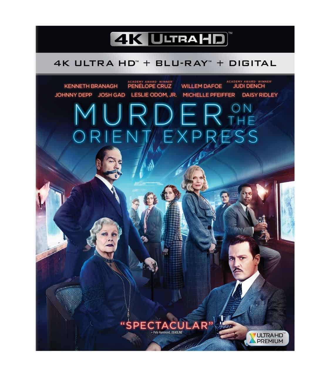 MURDER ON THE ORIENT EXPRESS 4K, Blu-ray And DVD Release