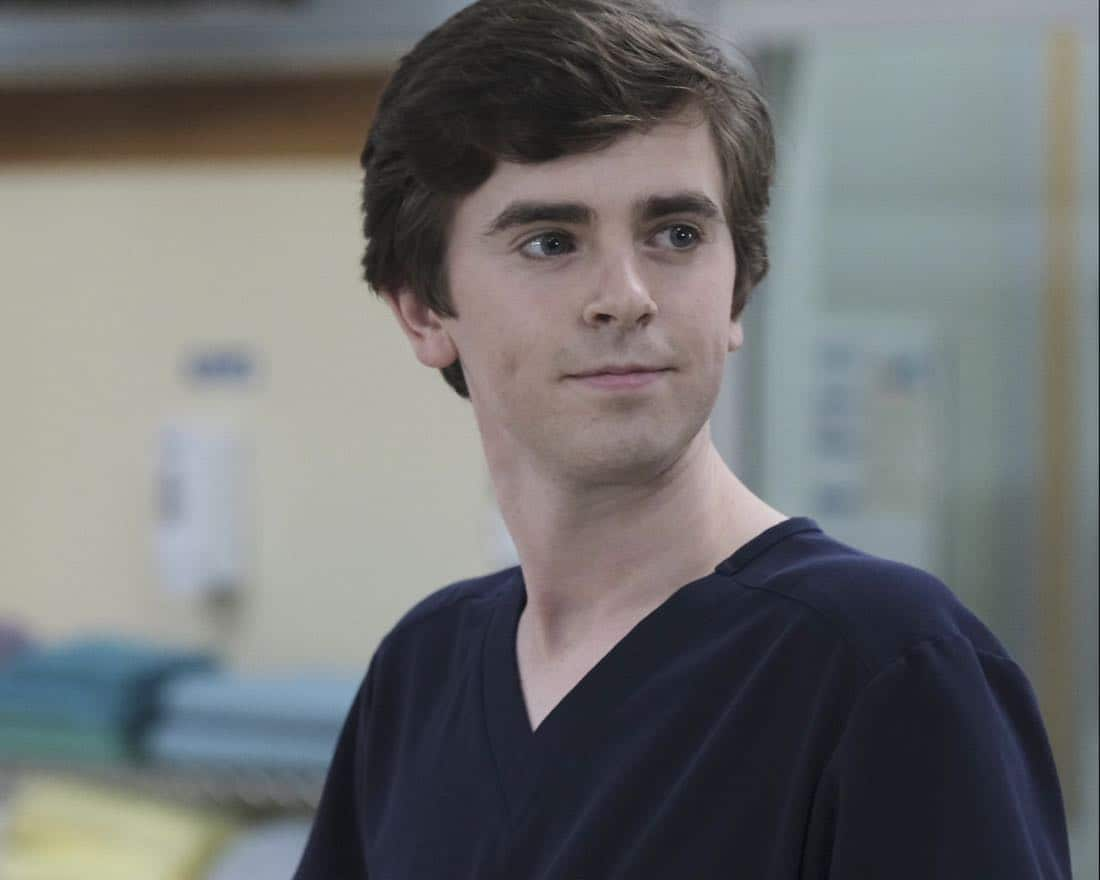 "THE GOOD DOCTOR - ""Islands Part Two"" - The twins suffer complications from their surgery forcing the team at San Jose Boneventure Hospital to make a life-changing decision. Meanwhile, Dr. Shaun Murphy returns to the hospital after his trip with Lea and decides he needs a more permanent change and gives Dr. Aaron Glassman his two weeks' notice, on ""The Good Doctor,"" MONDAY, JAN. 15 (10:01-11:00 p.m. EST), on The ABC Television Network.  (ABC/Eike Schroter) FREDDIE HIGHMORE"