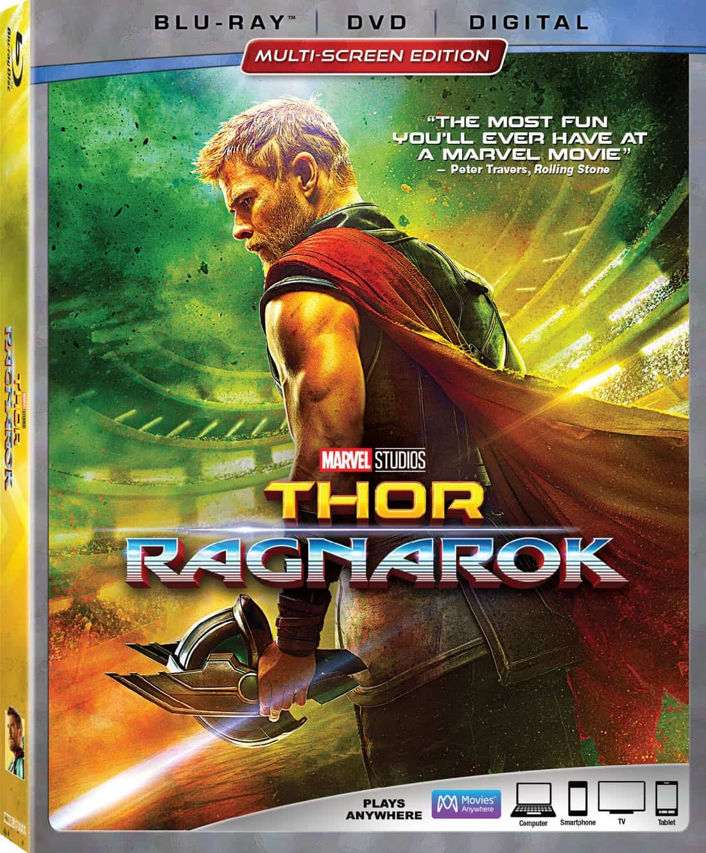 Thor Ragnarok Bluray DVD
