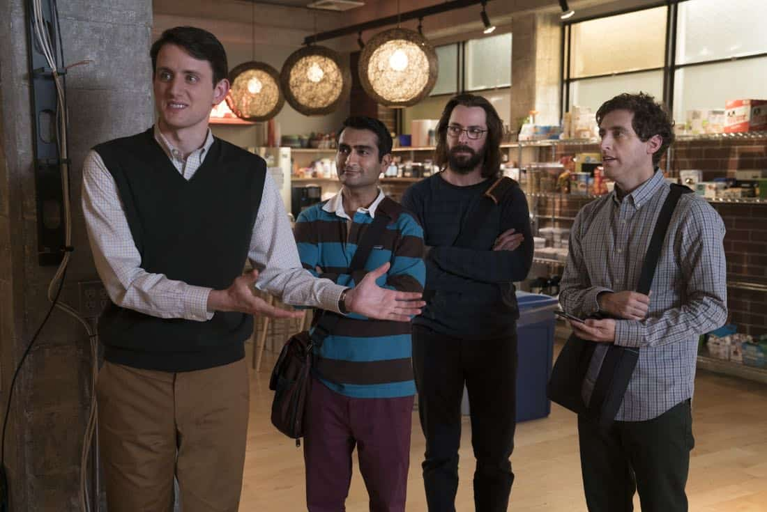 Zach-Woods_Kumail-Nanjiani_Martin-Starr_Thomas-Middleditch_Photo-by-Ali-Paige-Goldstein