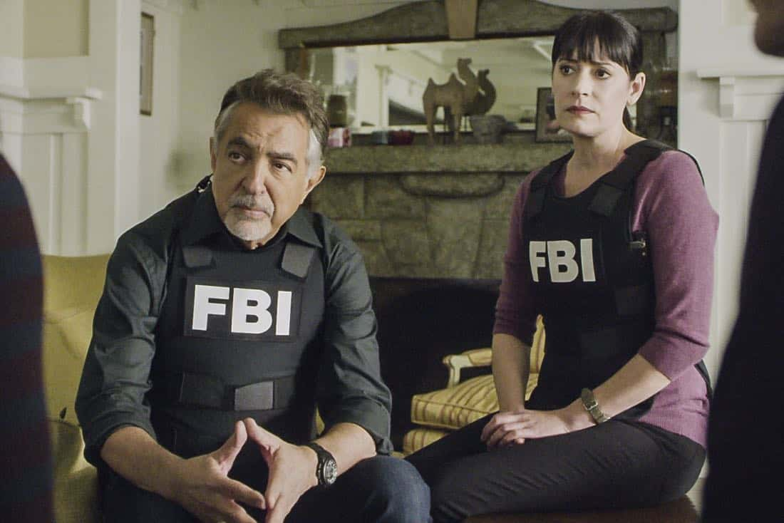 """Bad Moon on the Rise"" -- The BAU is called to New York when several casualties of a brutal nature are reported in Central Park, on CRIMINAL MINDS, Wednesday, Jan. 17 (10:00-11:00 PM, ET/PT) on the CBS Television Network. Pictured: Joe Mantegna (David Rossi), Paget Brewster (Emily Prentiss) Photo: Best Screen Grab Available ©2018 CBS Broadcasting, Inc. All Rights Reserved"