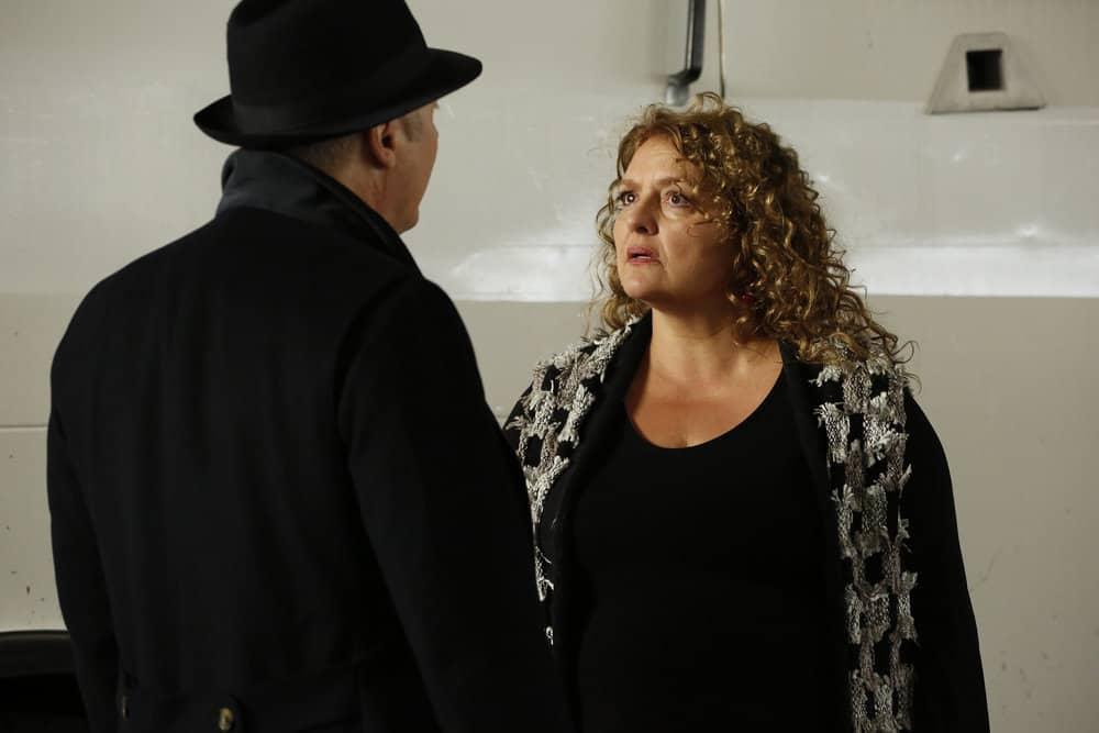 """THE BLACKLIST -- """"Abraham Stern (#100)"""" Episode 511 -- Pictured: Aida Turturro as Heddie Hawkins -- (Photo by: Will Hart/NBC)"""