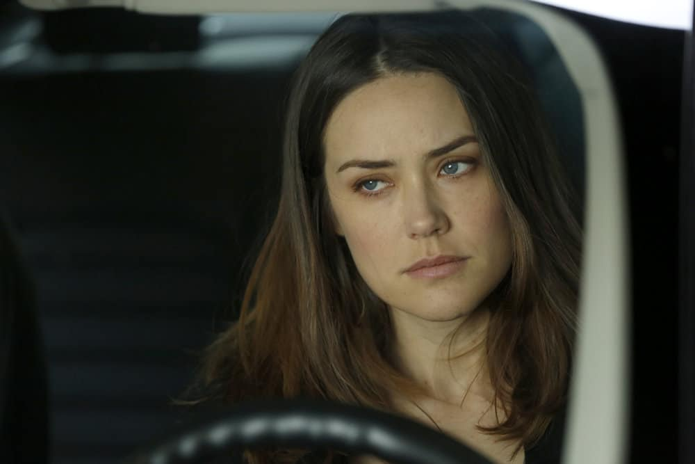 "THE BLACKLIST -- ""Abraham Stern (#100)"" Episode 511 -- Pictured: Megan Boone as Elizabeth Keen -- (Photo by: Will Hart/NBC)"