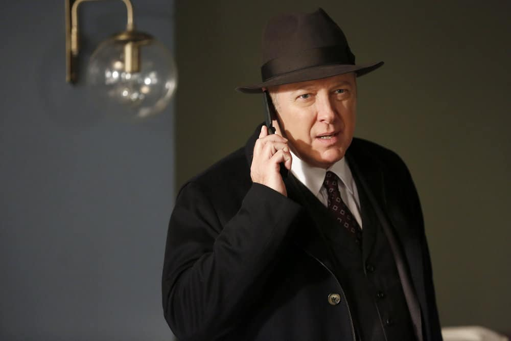 "THE BLACKLIST -- ""Abraham Stern (#100)"" Episode 511 -- Pictured: James Spader as Raymond ""Red"" Reddington -- (Photo by: Will Hart/NBC)"