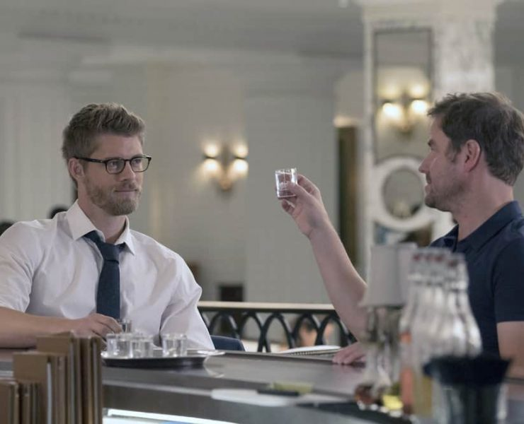"BLINDSPOT -- ""Balance of Might"" Episode 310 -- Pictured: Luke Mitchell as Roman -- (Photo by: Barbara Nitke/NBC)"