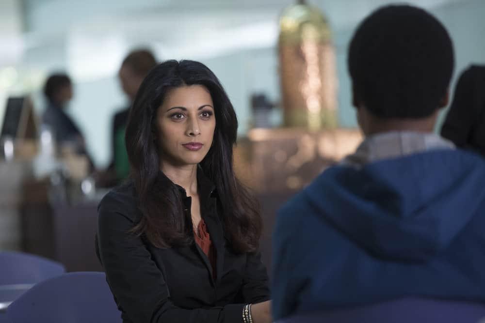 "BLINDSPOT -- ""Balance of Might"" Episode 310 -- Pictured: Reshma Shetty as Megan Butani -- (Photo by Eric Liebowitz/NBC/Warner Bros)"