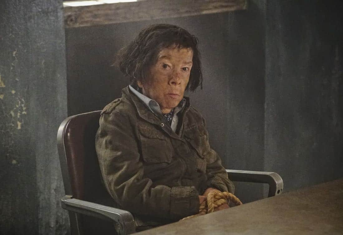 """Cac Tu Nhan"" -- Pictured: Linda Hunt (Henrietta ""Hetty"" Lange). While Hetty is being tortured by her captors in Vietnam, Eric and Nell find a clue to her whereabouts, prompting the team to organize a rescue mission with very little information, on NCIS: LOS ANGELES, Sunday, Jan. 14 (9:00-10:00 PM, ET/PT) on the CBS Television Network. Carl Lumbly guest stars as Charles Langston and John M. Jackson guest stars as A.J. Chegwidden. Photo: Bill Inoshita/CBS ©2017 CBS Broadcasting, Inc. All Rights Reserved."
