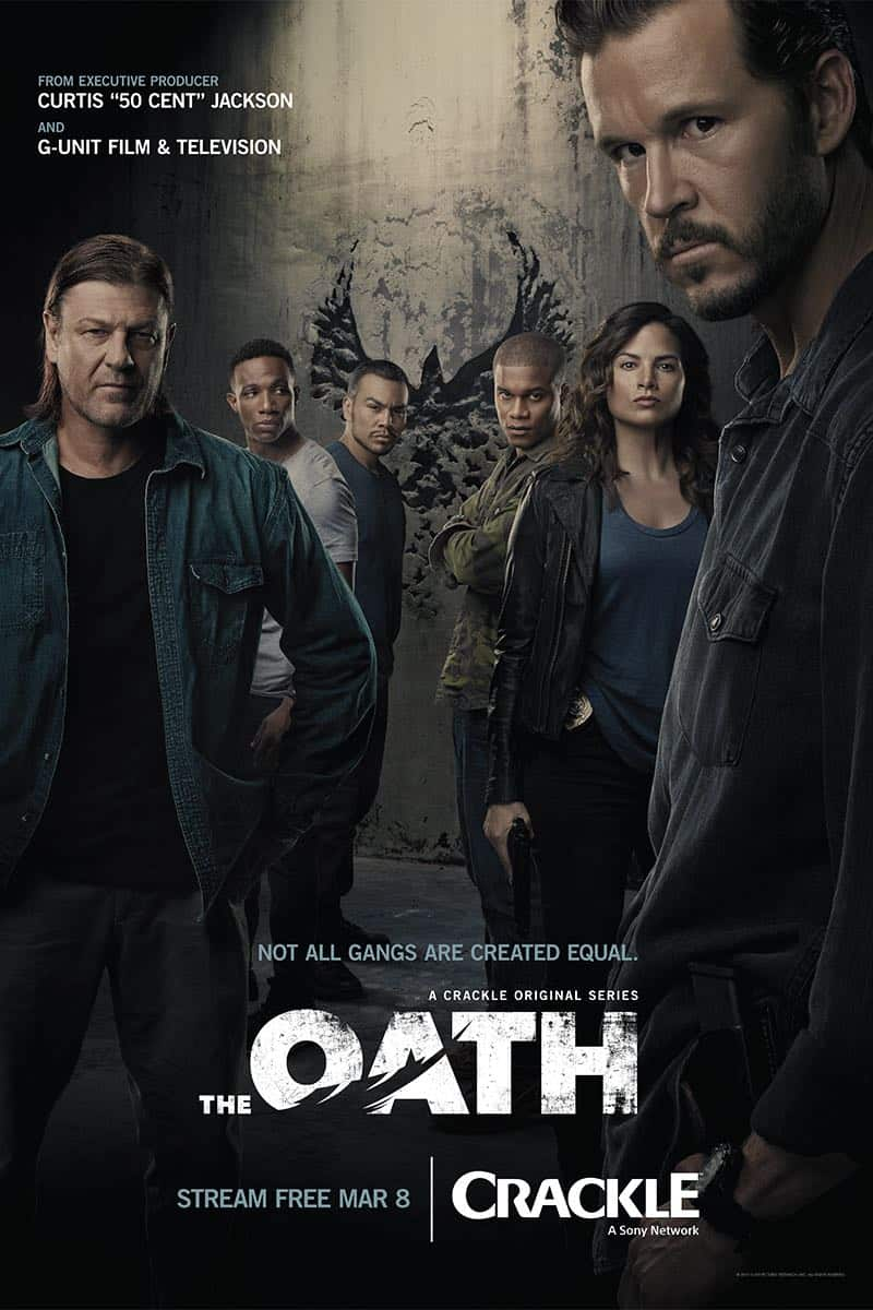 The Oath Poster Key Art Crackle