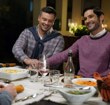 "LUCIFER: L-R: Tom Welling and Tom Ellis in the ""Til Death Do Us Part"" episode of LUCIFER airingMonday, Jan. 29(8:00-9:00 PM ET/PT) on FOX. CR: FOX"