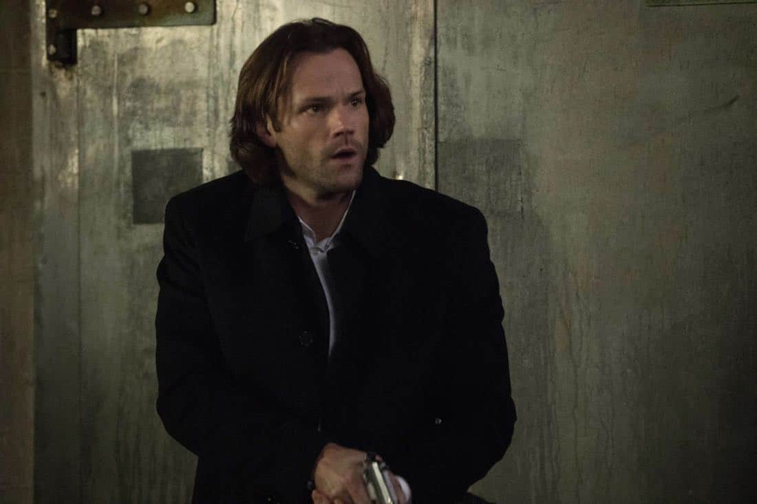 """Supernatural -- """"Breakdown"""" -- Image Number: SN1311a_0285b.jpg -- Pictured: Jared Padalecki as Sam -- Photo: Jack Rowand/The CW -- © 2018 The CW Network, LLC All Rights Reserved"""