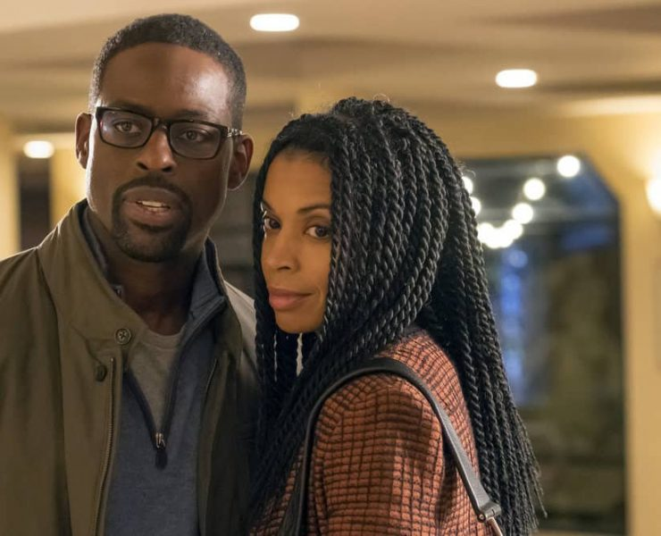 "THIS IS US -- ""That'll Be The Day"" Episode 213 -- Pictured: (l-r) Sterling K. Brown as Randall, Susan Kelechi Watson as Beth -- (Photo by: Ron Batzdorff/NBC)"