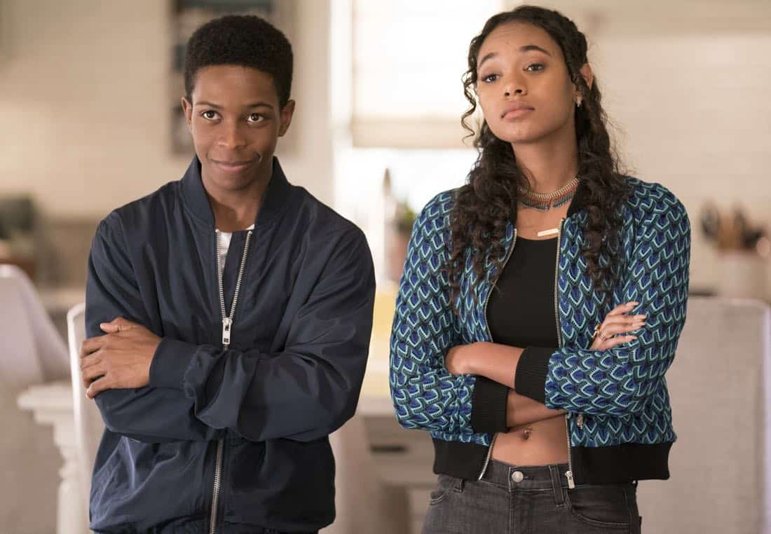 "LETHAL WEAPON: Pictured L-R: Dante Brown and Chandler Kinney in the ""An Inconvenient Ruth"" episode of LETHAL WEAPON airing Tuesday, Feb. 6 (8:00-9:00 PM ET/PT) on FOX. ©2018 Fox Broadcasting Co. CR: Erik Voake/FOX"