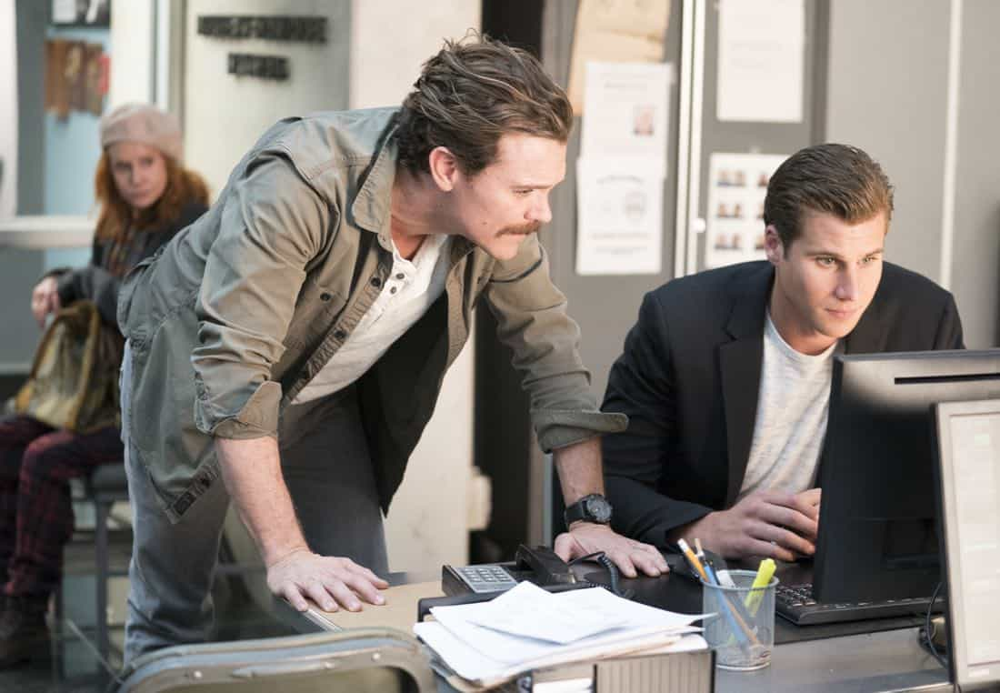 "LETHAL WEAPON: Pictured L-R: Clayne Crawford and Andrew Creer in the ""An Inconvenient Ruth"" episode of LETHAL WEAPON airing Tuesday, Feb. 6 (8:00-9:00 PM ET/PT) on FOX. ©2018 Fox Broadcasting Co. CR: Erik Voake/FOX"