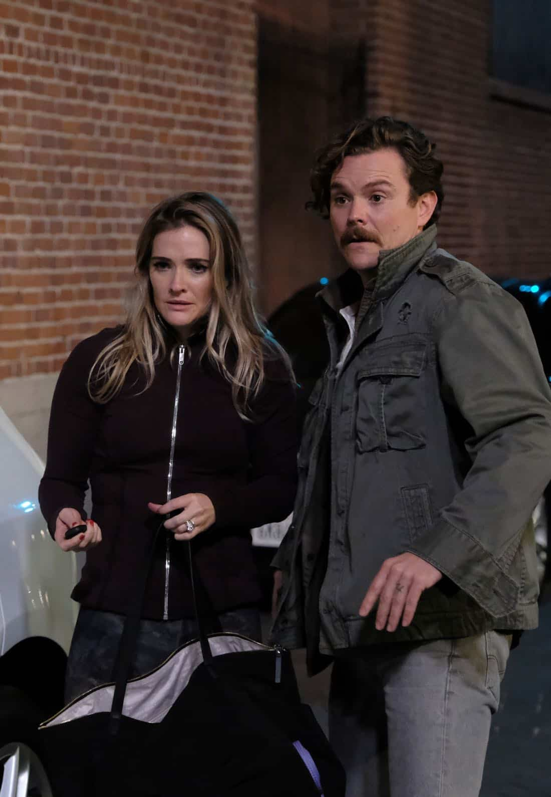 "LETHAL WEAPON: Pictured L-R: Guest star Bre Blair and Clayne Crawford in the ""Inconvenient Ruth"" episode of LETHAL WEAPON airing Tuesday, Feb. 6 (8:00-9:00 PM ET/PT) on FOX. ©2018 Fox Broadcasting Co. CR: Ray Mickshaw/FOX"