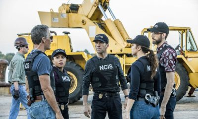 """""""Monster"""" -- After a deadly armed robbery and high-speed chase is connected to an undercover ATF operation, Percy reconnects with her former ATF partner, Jake Roman (L. Steven Taylor), on NCIS: NEW ORLEANS, Tuesday, Jan. 2 (10:00-11:00 PM, ET/PT) on the CBS Television Network. Pictured L-R: Scott Bakula as Special Agent Dwayne Pride, Shalita Grant as Sonja Percy, Lucas Black as Special Agent Christopher LaSalle, Vanessa Ferlito as FBI Special Agent Tammy Gregorio, and Rob Kerkovich as Forensic Scientist Sebastian Lund Photo: Skip Bolen/CBS ©2017 CBS Broadcasting, Inc. All Rights Reserved"""