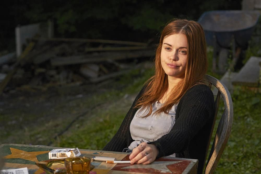 """CHANNEL ZERO: BUTCHER'S BLOCK -- """"Insidious Onset"""" Episode 301 -- Pictured: Holland Roden as Zoe Woods -- (Photo by: Allen Fraser/Syfy)"""