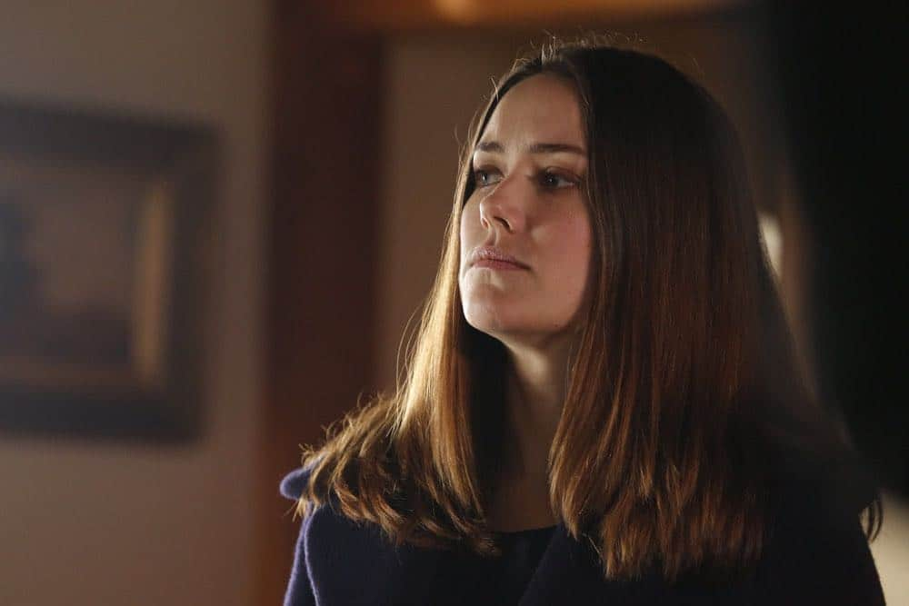 "THE BLACKLIST -- ""The Invisible Hand (#63)"" Episode 513 -- Pictured: Megan Boone as Elizabeth Keen -- (Photo by: Will Hart/NBC)"